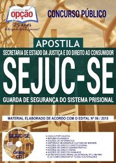 Apostila SEJUC-SE 2018 Guarda de Segurança do Sistema Prisional