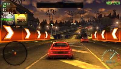 Download Game Need For Speed: Carbon Own The City PPSSPP ISO Ukuran Kecil