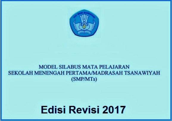 Silabus Mata Pelajaran Smp Mts Edisi Revisi 2017 Perangkat Mengajar