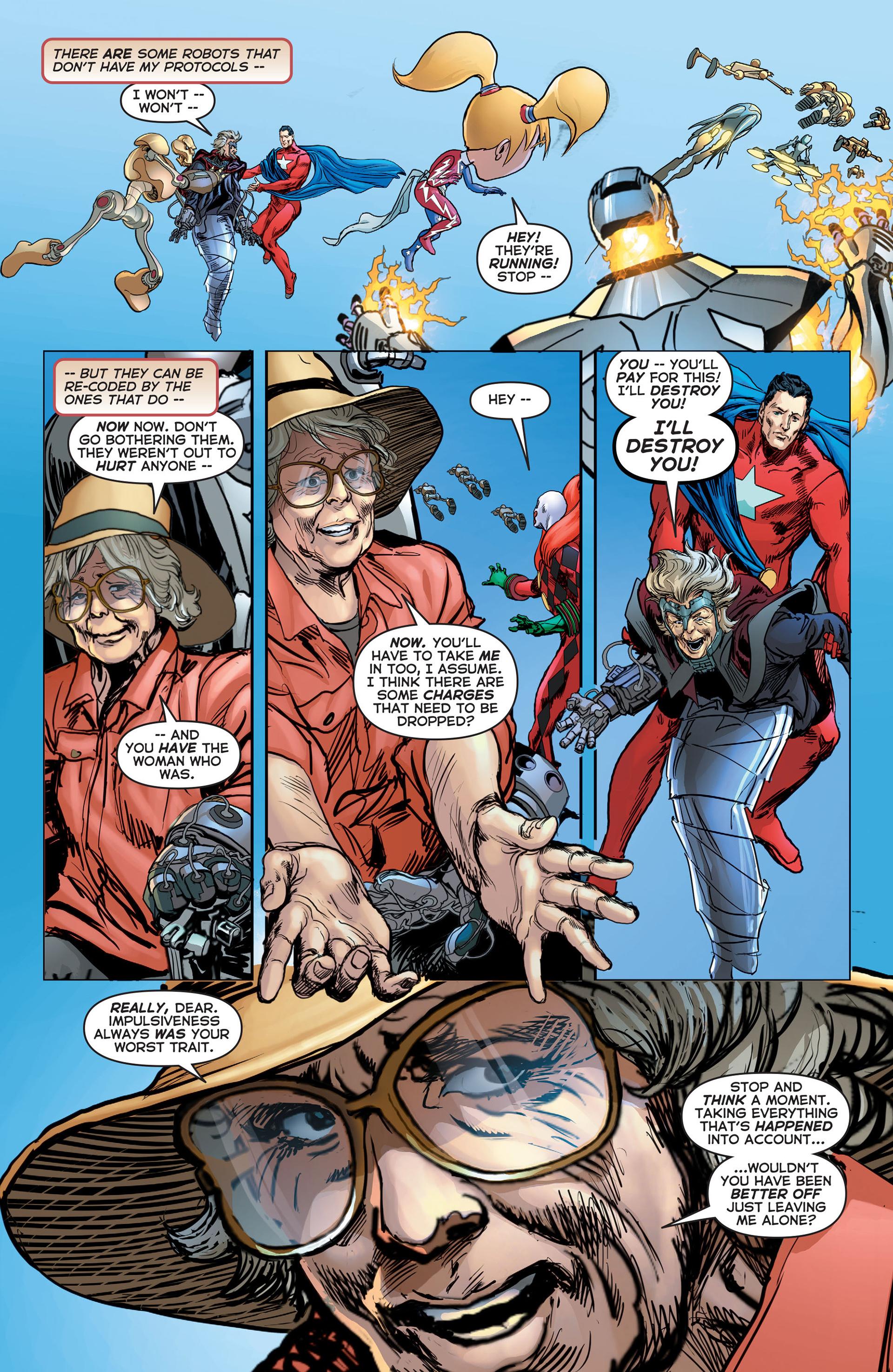 Read online Astro City comic -  Issue #15 - 21
