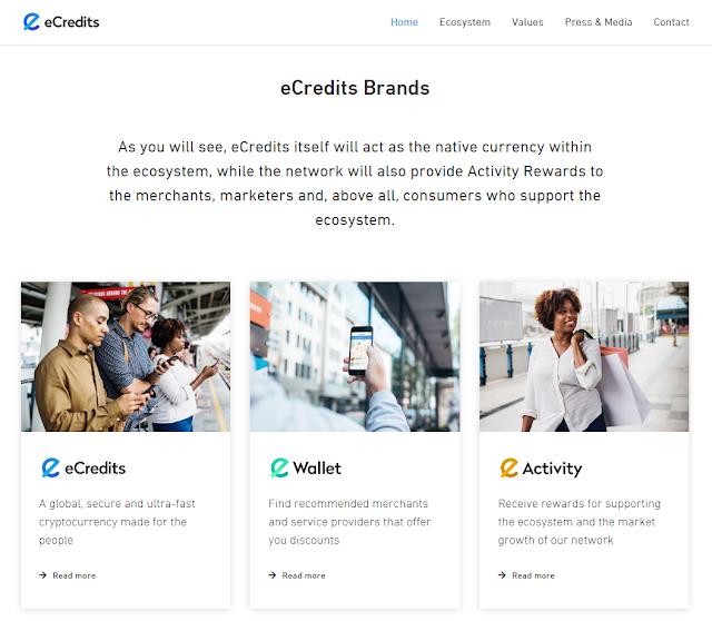 eCredits web