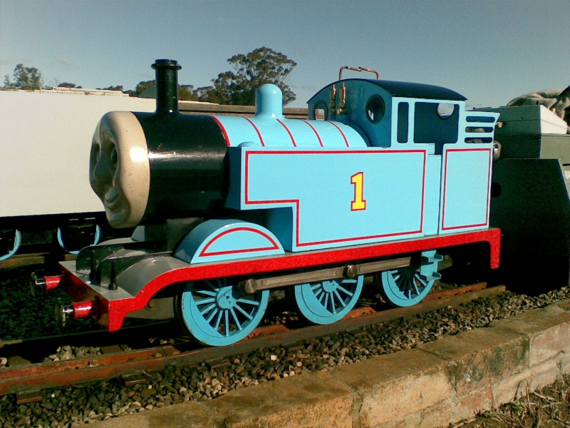 The Miniature Railway - Newby Hall