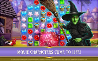 The Wizard Of Oz Magic Match Mod Apk Lives And Booster Download Free For Android
