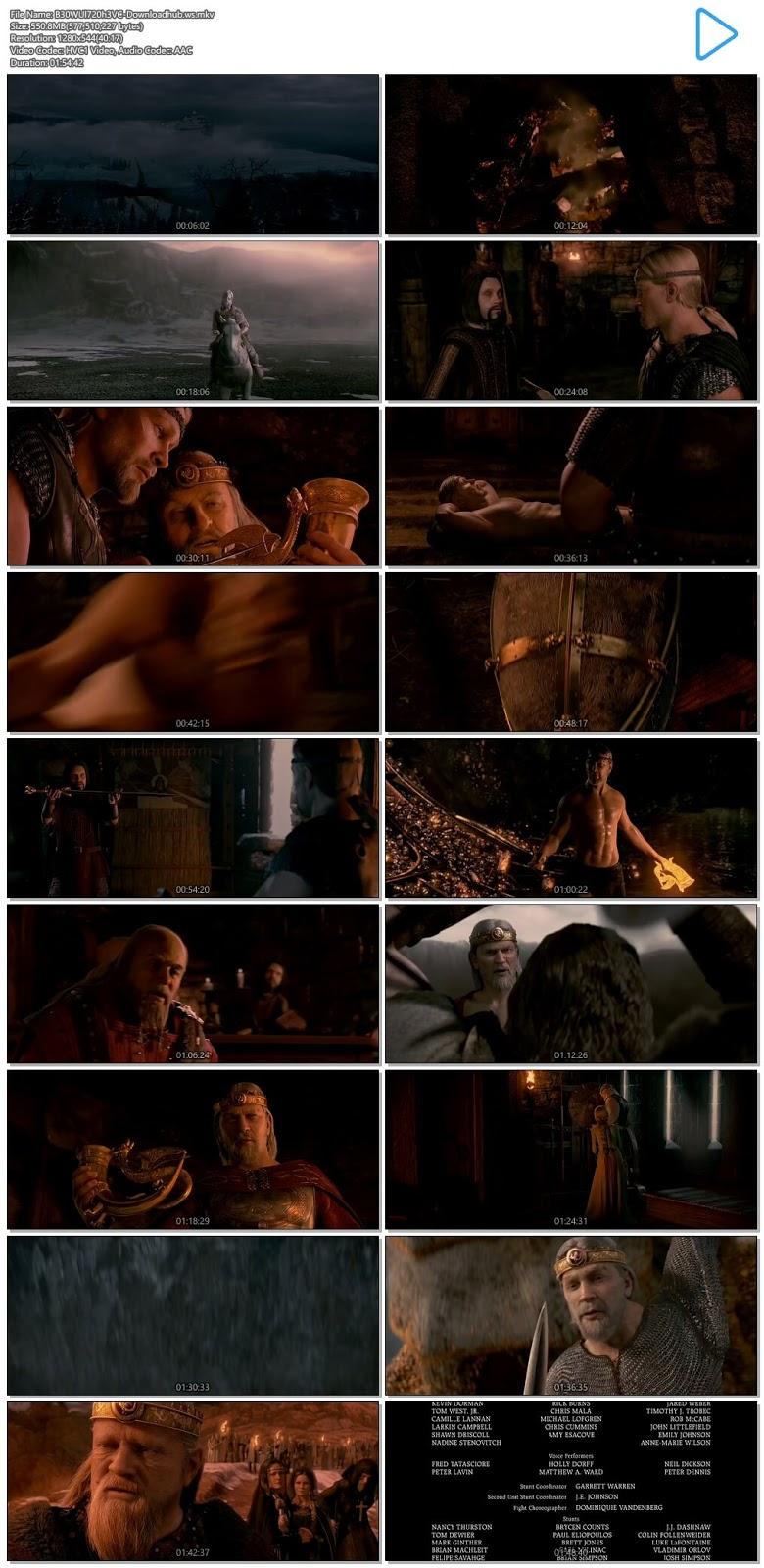 Beowulf 2007 Hindi Dual Audio 720p HEVC BluRay Free Download