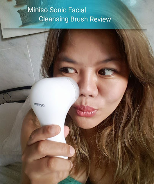 THE RED LIPPIE ADVENTURES: REVISITED | MINISO Sonic Facial Cleansing Brush Review
