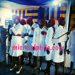 Nigerian choir singing you alone are worthy by eben