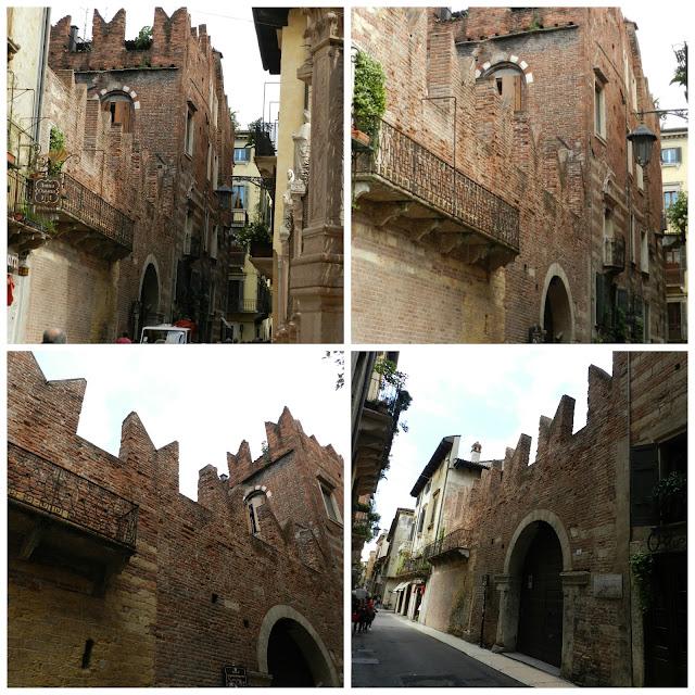 Um dia em Verona -  suposta Casa do Romeu