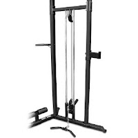 High and low pulley system on Marcy SM-3551 Olympic Strength Cage