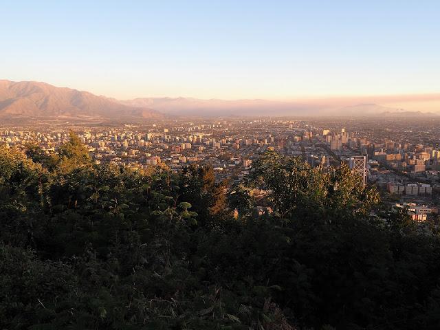 Santiago de Chile, Cerro san Cristobal