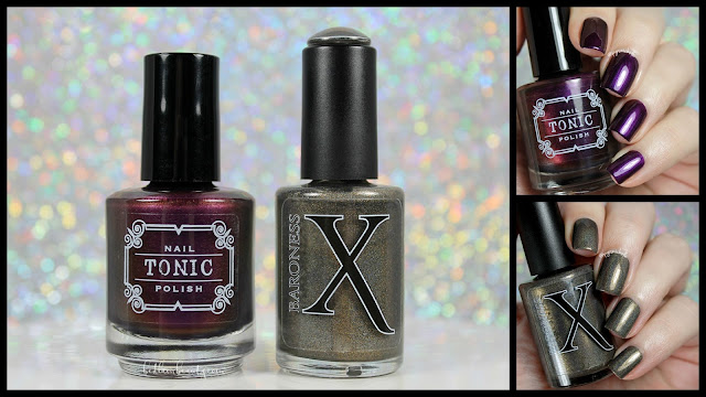 Baroness X + Tonic Nail Polish • Limited Edition Holiday Duo