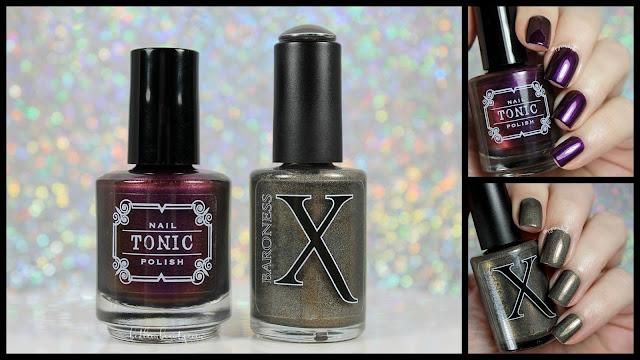 Baroness X + Tonic Nail Polish • Limited Edition Holiday Duo