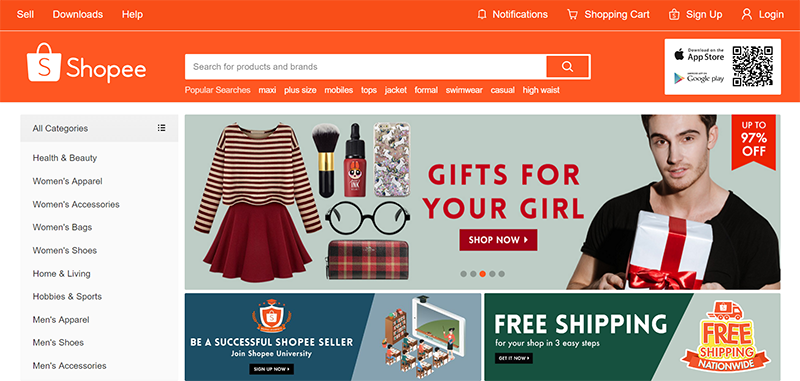Shopee Celebrates CNY 2017, Announced FREE Shipping And COD Nationwide!