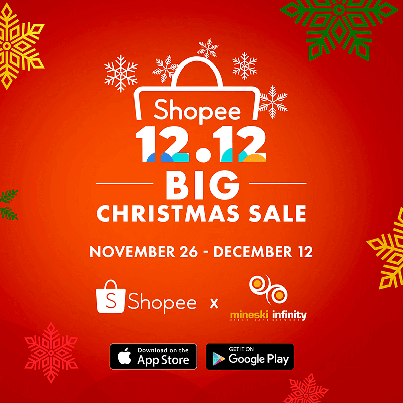 Mineski Infinity announces Shopee code for the 12.12 Big Christmas Sale