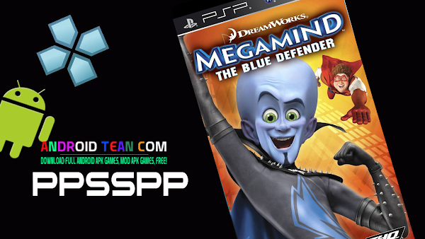 Megamind - The Blue Defender ISO   PPSSPP Android