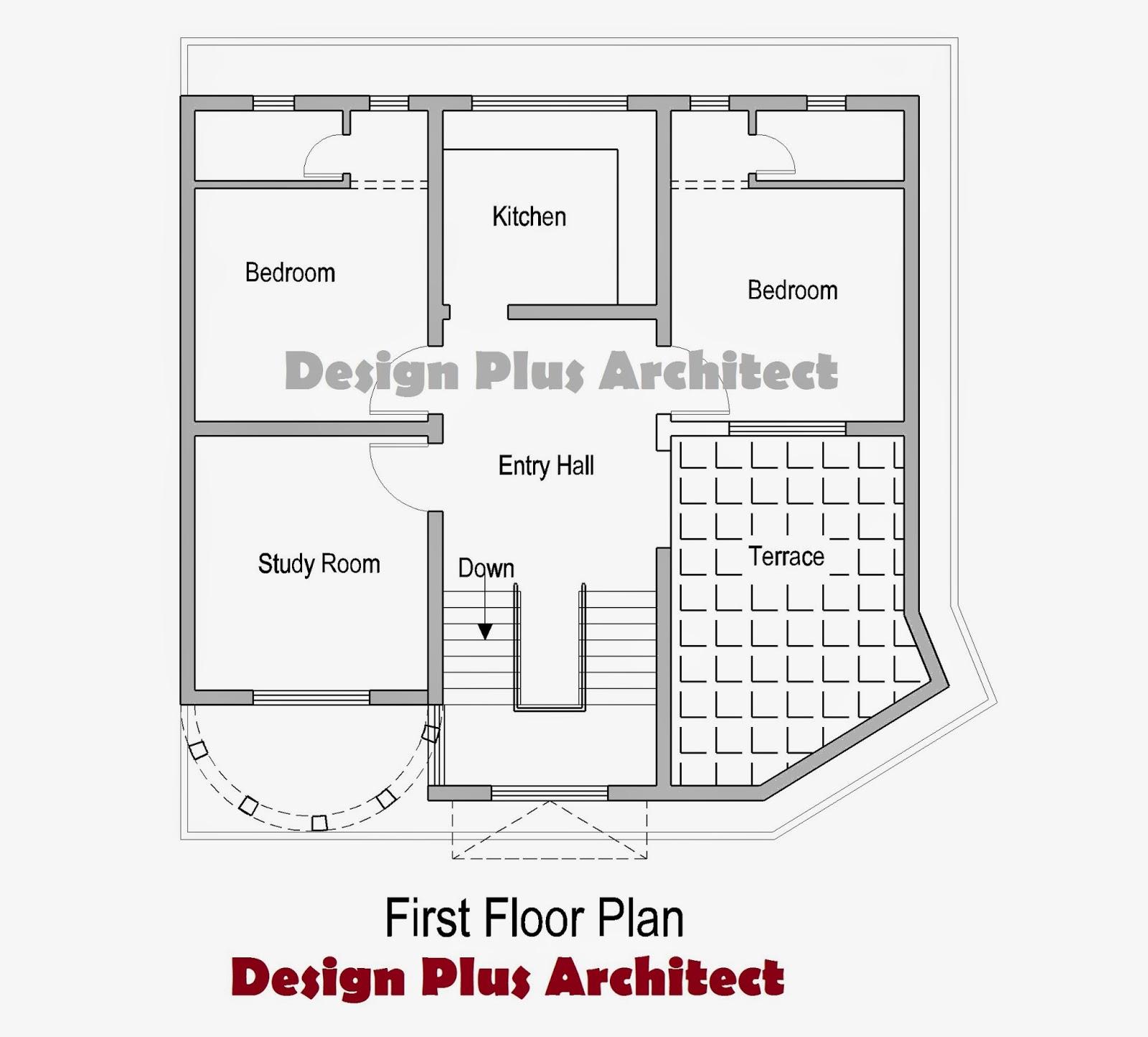 Architect Design House Plans architectural design house plans on 7 marla house design in punjab
