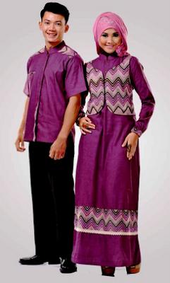 Gamis blazer untuk pasangan menjelang lebaran