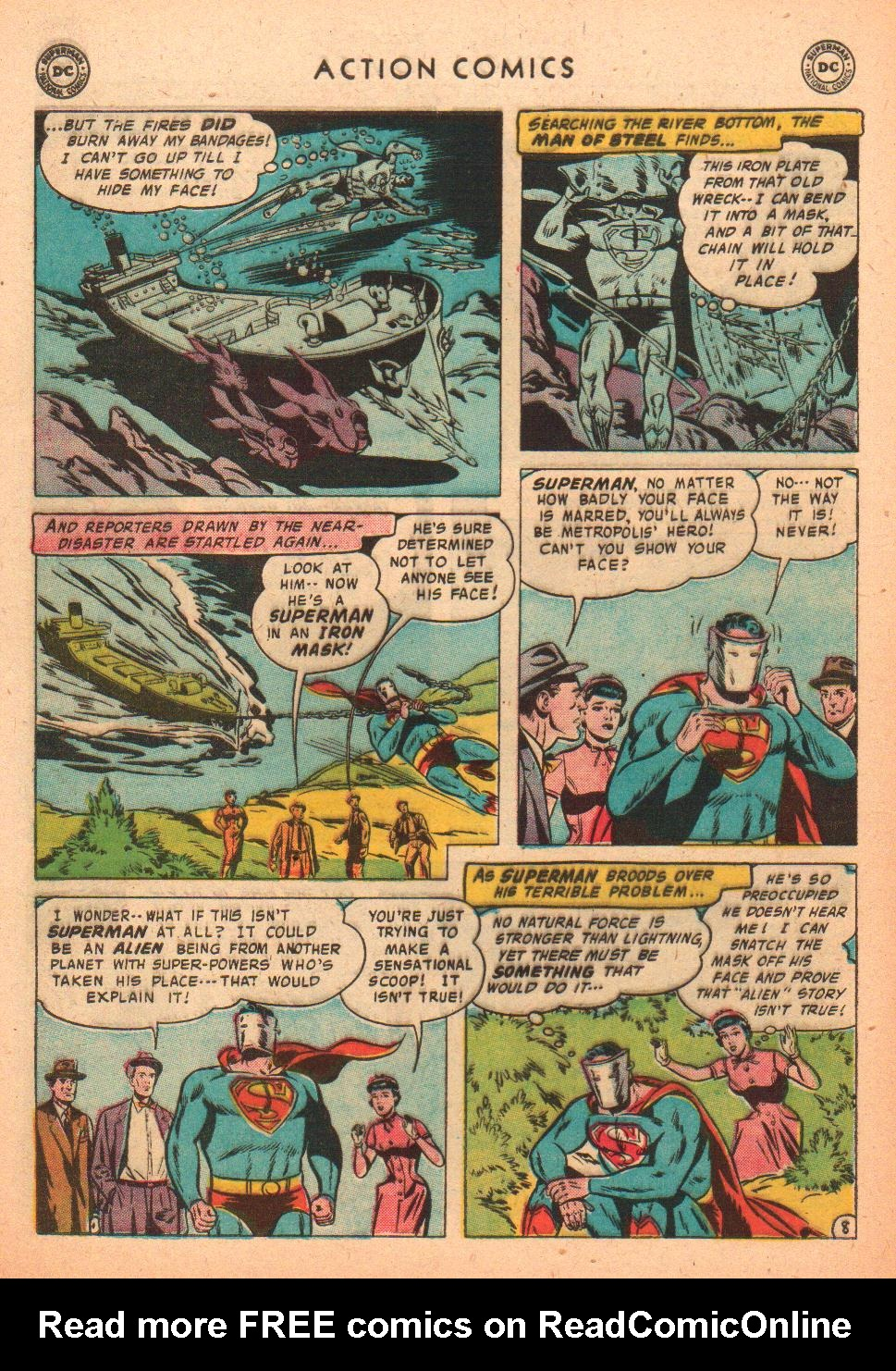 Read online Action Comics (1938) comic -  Issue #239 - 10