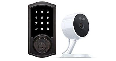 Kwikset Smart Lock Keyless Door Security with Cloud Cam