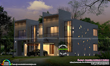 Superb Modern Home Plan - Kerala Design And Floor Plans