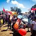 Simpatizantes do ex-presidente Lula realizam caminha em Barras