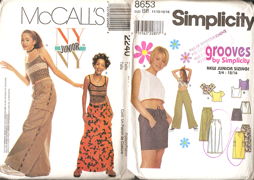 Bien Aimée: Late 90\'s & Early 00\'s Sewing Patterns