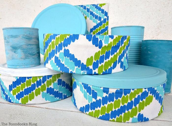 Fabric Tins