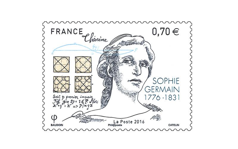 Resultado de imagen de sophie germain poste france