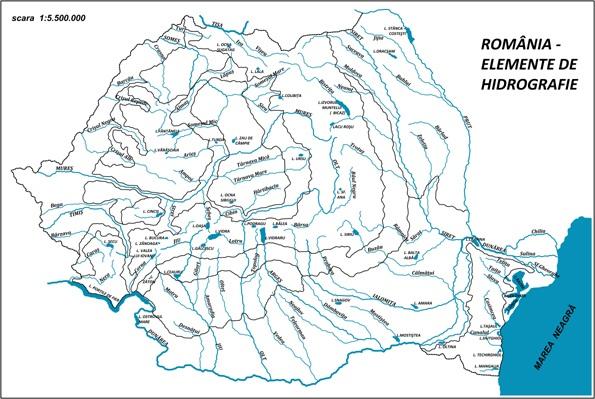Totul Despre Geografia Romaniei Hidrografia Romaniei