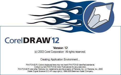 Sejarah CorelDRAW - CorelDRAW Versi 12.0 (2003)