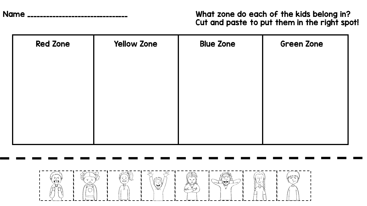 Miss Behavior: Zones of Regulation