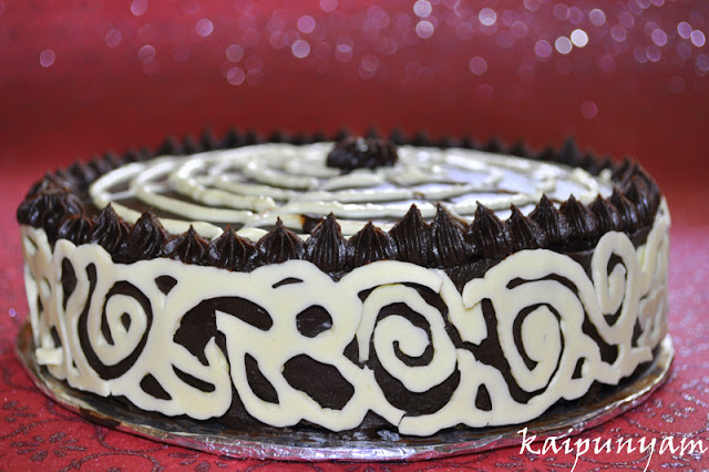 Deep Dark Chocolate Cake