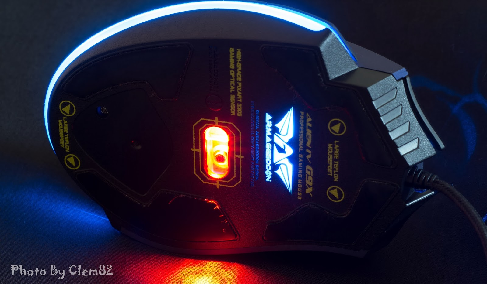 First Look & Review - Armaggeddon Alien IV G9X Optical Gaming Mouse 35