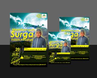 Jasa Desain Brosur Flyer Kajian Islam - Jasa Corel