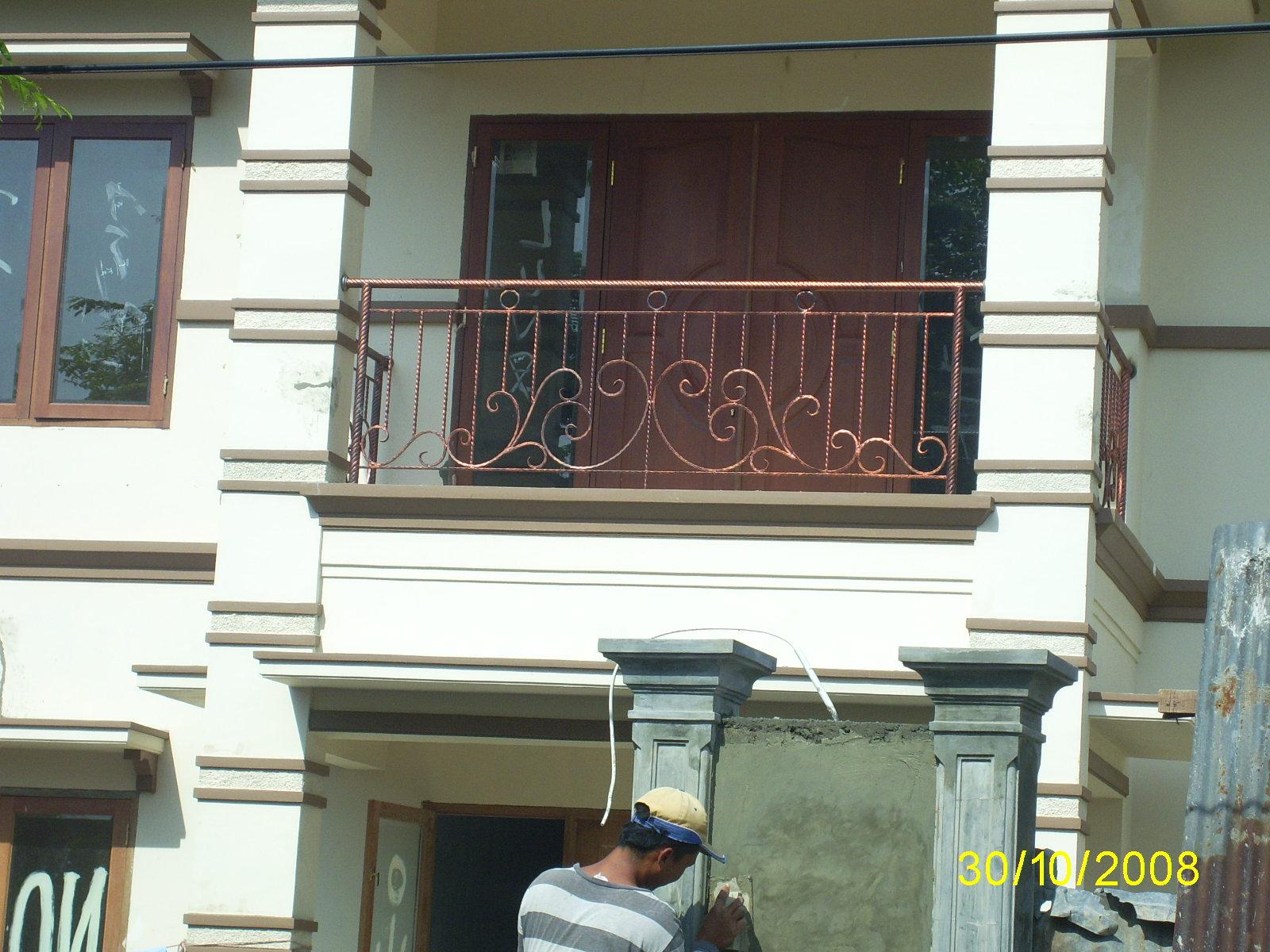 STAINLESS STEEL  BESI Balkon Sederhana tapi Cantik