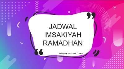 Cara Membuat Jadwal Imsakiyah Ramadhan di Web KEMENAG