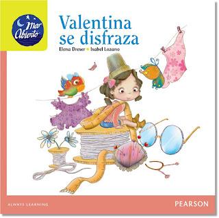 Valentina se disfraza