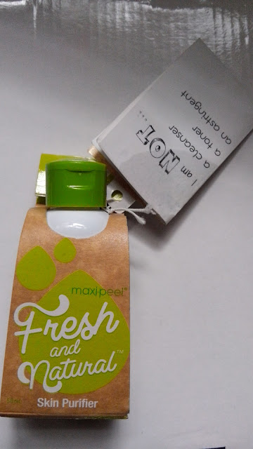 Fresh and Natural SKin Purifer Review