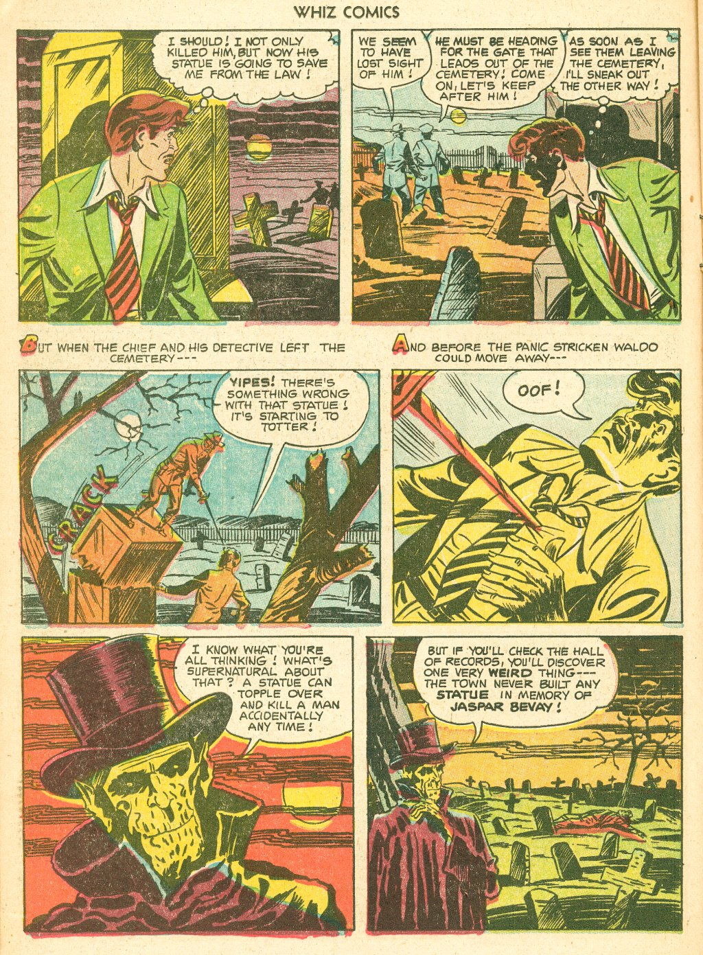 WHIZ Comics #155 #156 - English 14