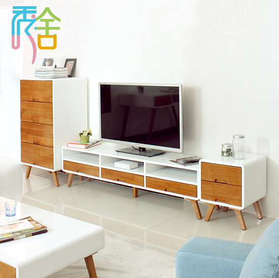Kumpulan Desain Meja dan Rak TV Minimalis Terbaru Yang Elegan 014