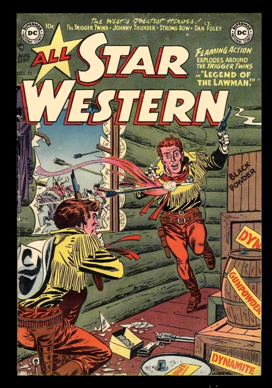 All-Star Western (1951) 72 Page 1