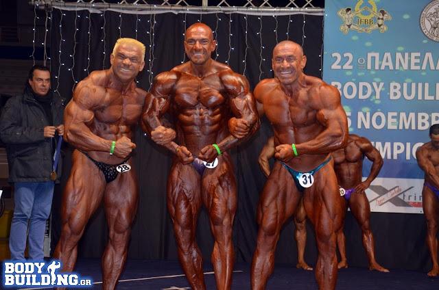 Στο 22ο Πανελλήνιο Κύπελλο Bodybuilding συμμετείχε ο Ναυπλιώτης Τάσος Κολιγκιώνης