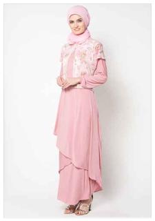 Fashion Baju Muslim Modern Wanita Terbaru 2018