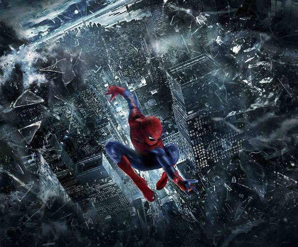 3D wallpaper amazing spider man 2