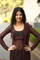 Kashish Vohra looks Beautiful Cute and Innocent beauty in Brown Transparent Velvet Gown ~  Exclusive 017.jpg