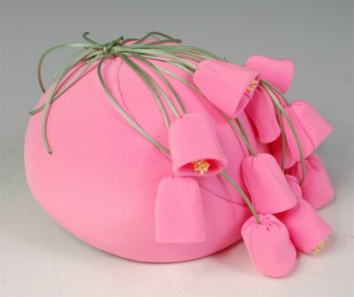 Frederick Fox Replica of Simon Mirman pink hat with bells