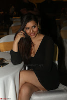 Kyra Dutta in black At Rogue Movie Audio Launch ~  076.JPG