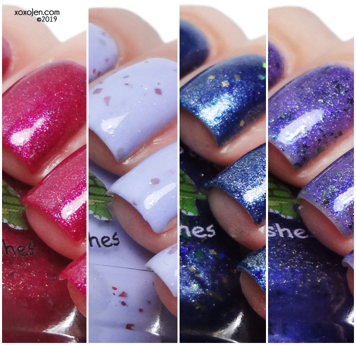 xoxoJen's swatch of Turtle Tootsie Indie Love & Light Project
