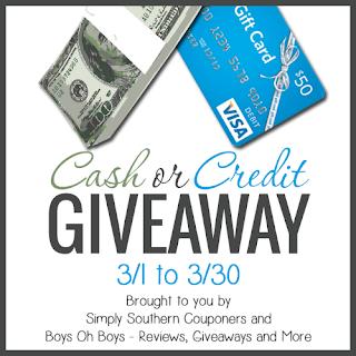 cash credit giveaway