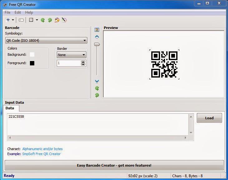 Cara Mudah Membuat Barcode atau QR Code PIN BBM,Wechat dll