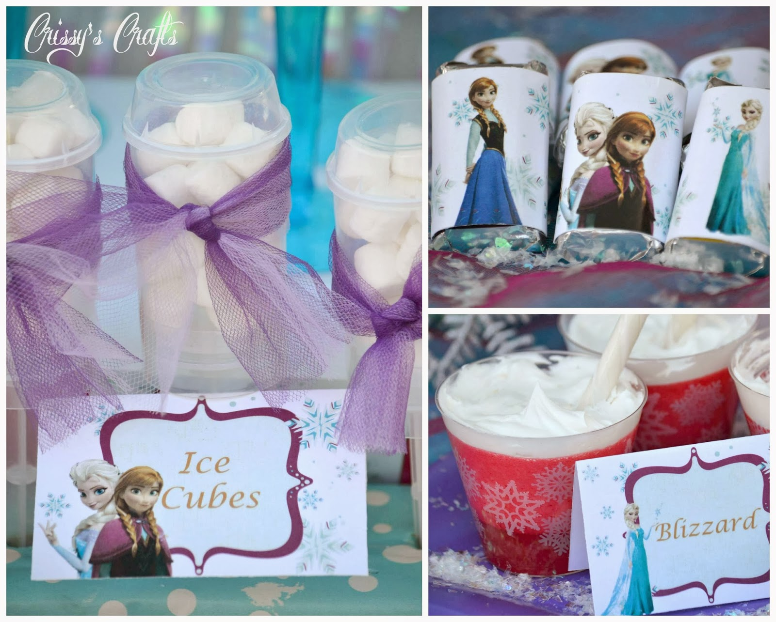 Crissy S Crafts Disney S Frozen Party Giveaway